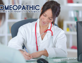 Homeopathic medicines for infertility in female